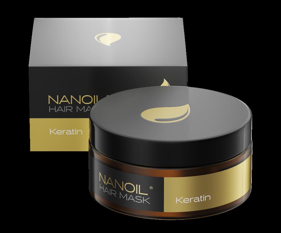 Nanoil – regenerierende Haarmaske mit Keratin